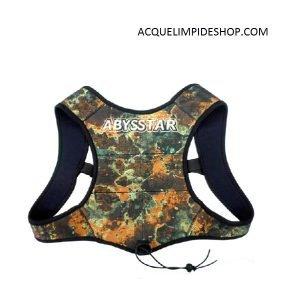 SCHIENALINO MIMETICO ABYSSTAR, accessori apnea, attrezzature apnea