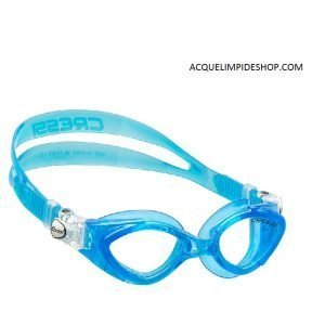 OCCHIALINI CRESSI KING CRAB CLEAR/BLU
