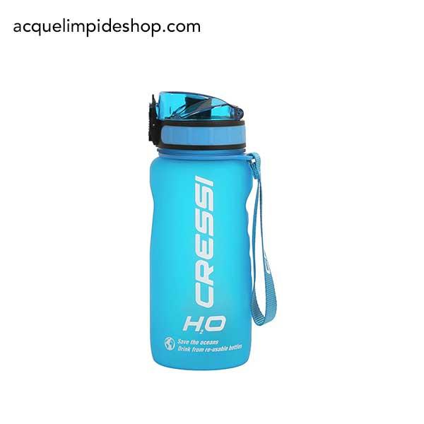 BORRACCIA CRESSI H2O FROSTED 400 ML, borraccia cressi, Attrezzature Sub