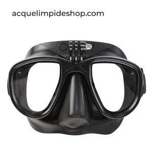 MASCHERA ALIEN ACTION BLACK OMER, apnea shop online, Maschera Apnea
