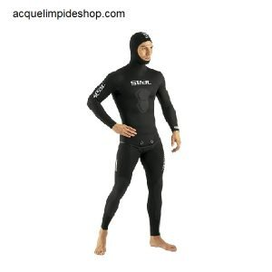 MUTA BLACK SHARK 5 MM MAN SEAC , Mute Apnea