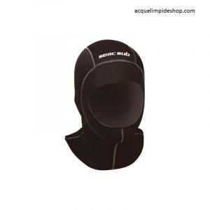 CAPPUCCIO SEAC STANDARD 3 MM, Negozio Sub, Acquelimpideshop, cappuccio rofos, attrezzature subacquee, Cappucci per immersione,