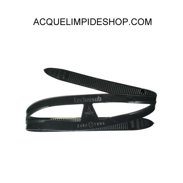 CINTURINO MASCHERA LOOK BLACK, accessori sub apnea,
